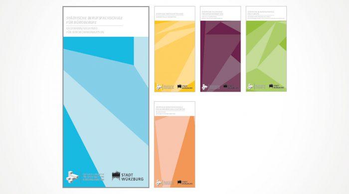 BSZ Folder Corporate Design Würzburg