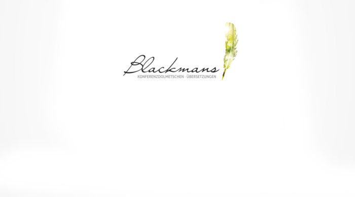 Blackmans Logogestaltung