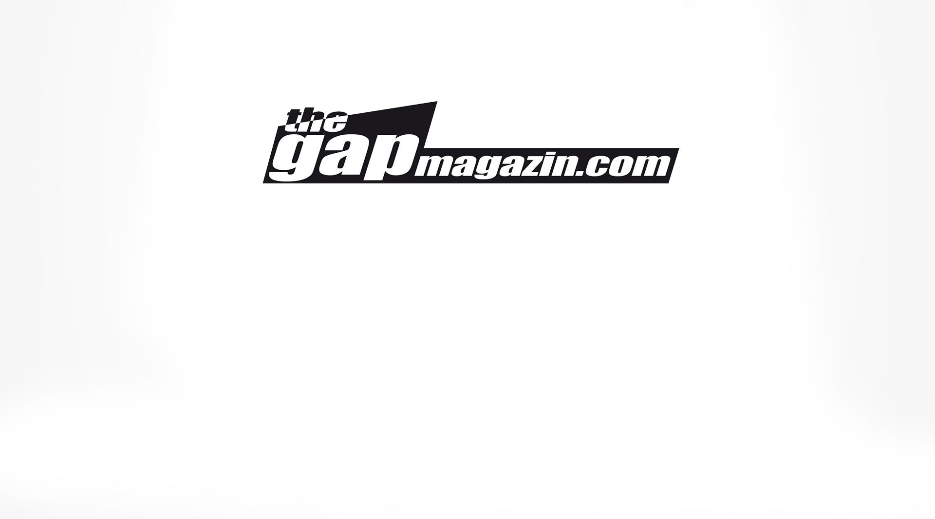 Logodesign the gap magazin