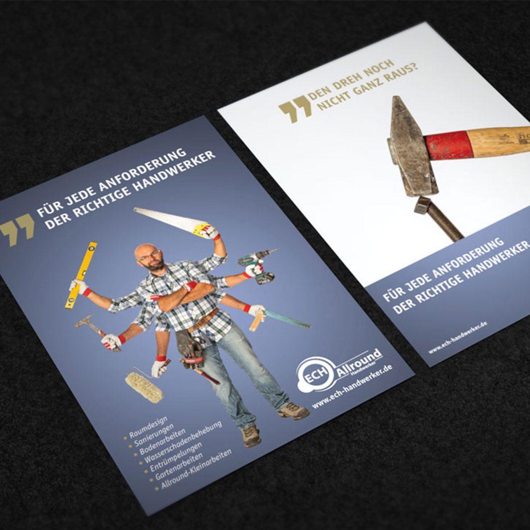 Corporatedesign, Designbüro, Imagefolder, Würzburg, Grafikdesign, Gestaltung jo's büro