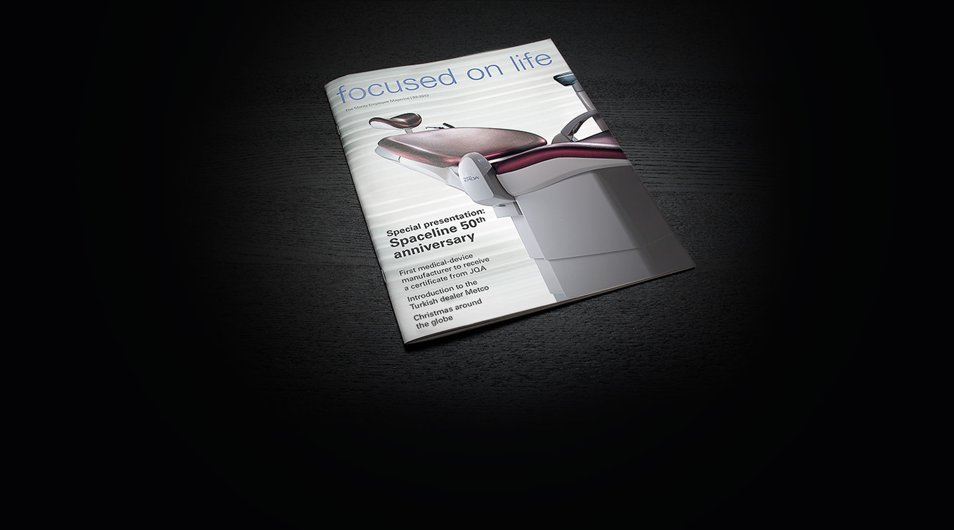 J. Morita Europe Magazin Editorial Design