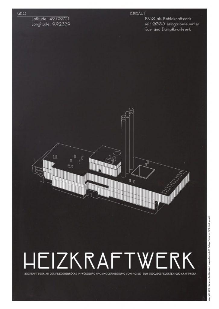 Würzburg Industria Kraftwerk Würzburg