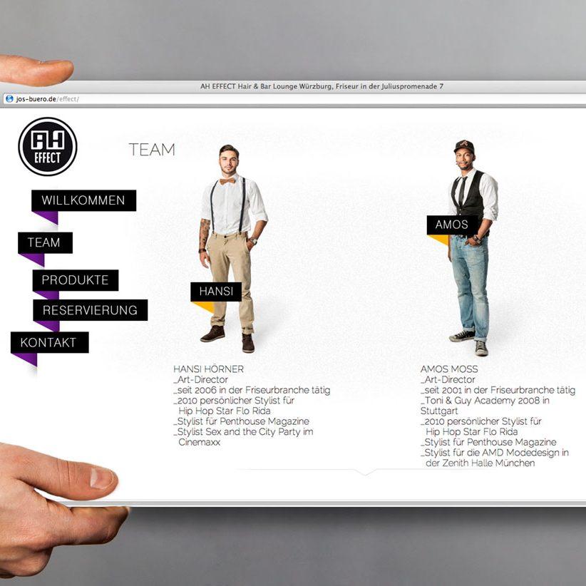 AH-Effect Webdesign & Print Würzburg