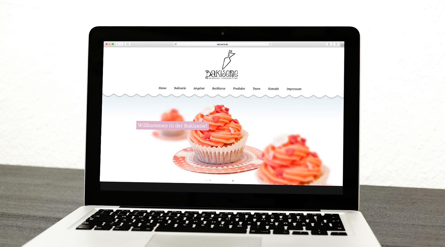 Bakiserie Webdesign Würzburg