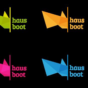 hausboot Logodesign Würzburg