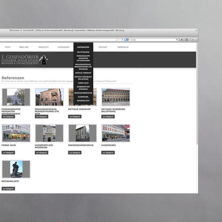 Geisendörfer Webdesign Würzburg