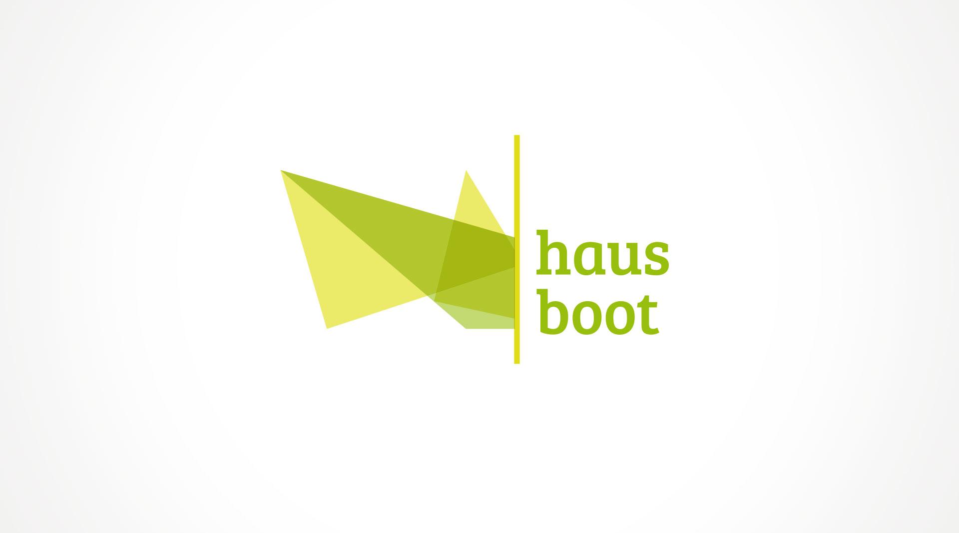 Hausboot Logodesign