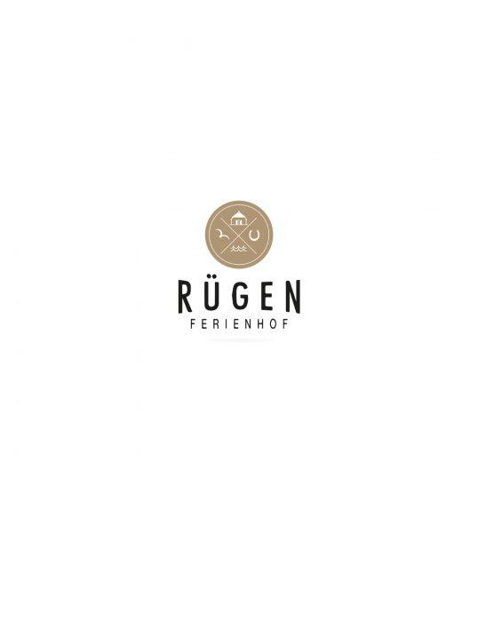 Ferienhof Rügen Logo Markenkreation