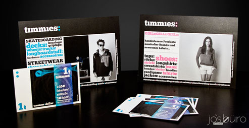 timmies visitenkarten Logodesign Würzburg