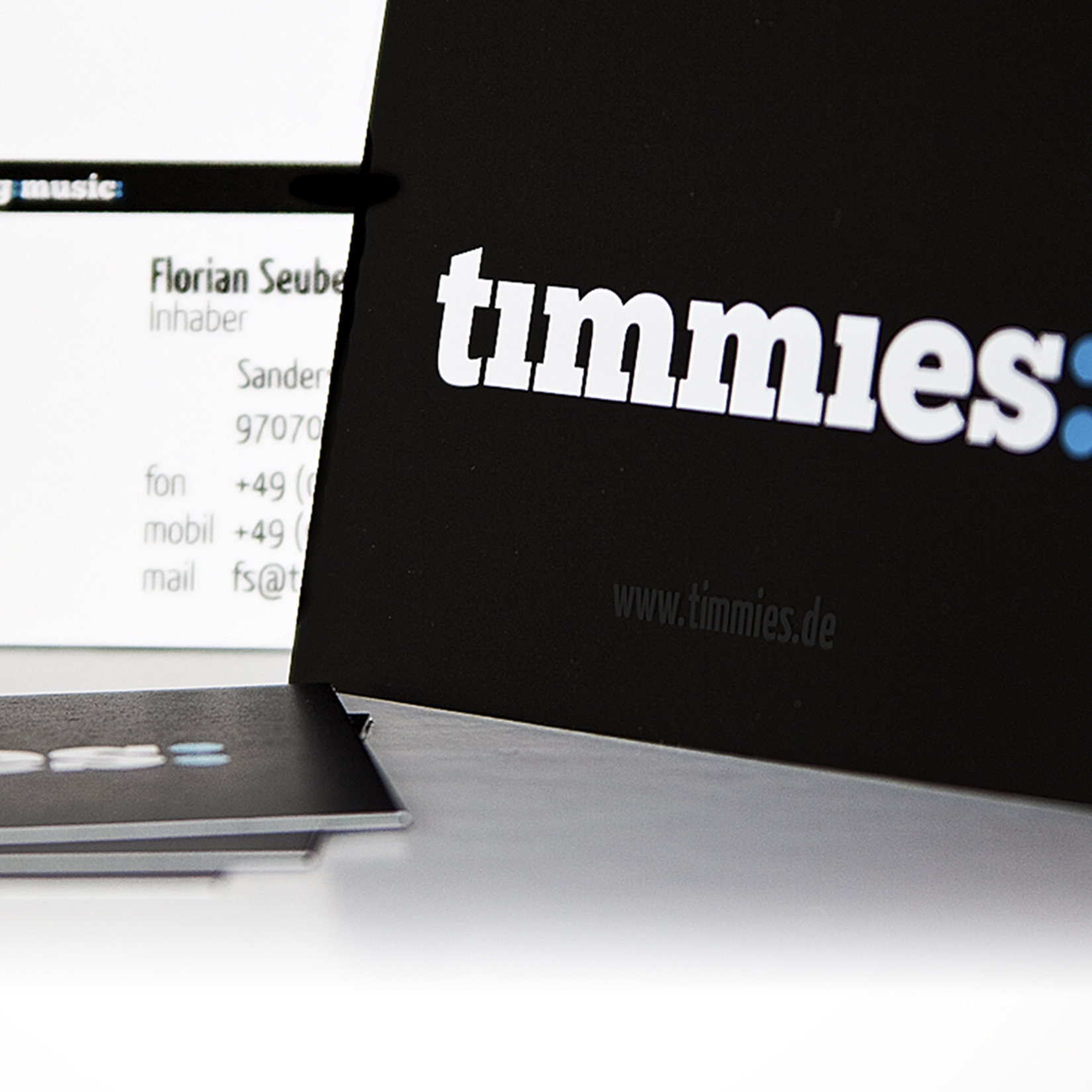 timmies Corporate Design Mockup