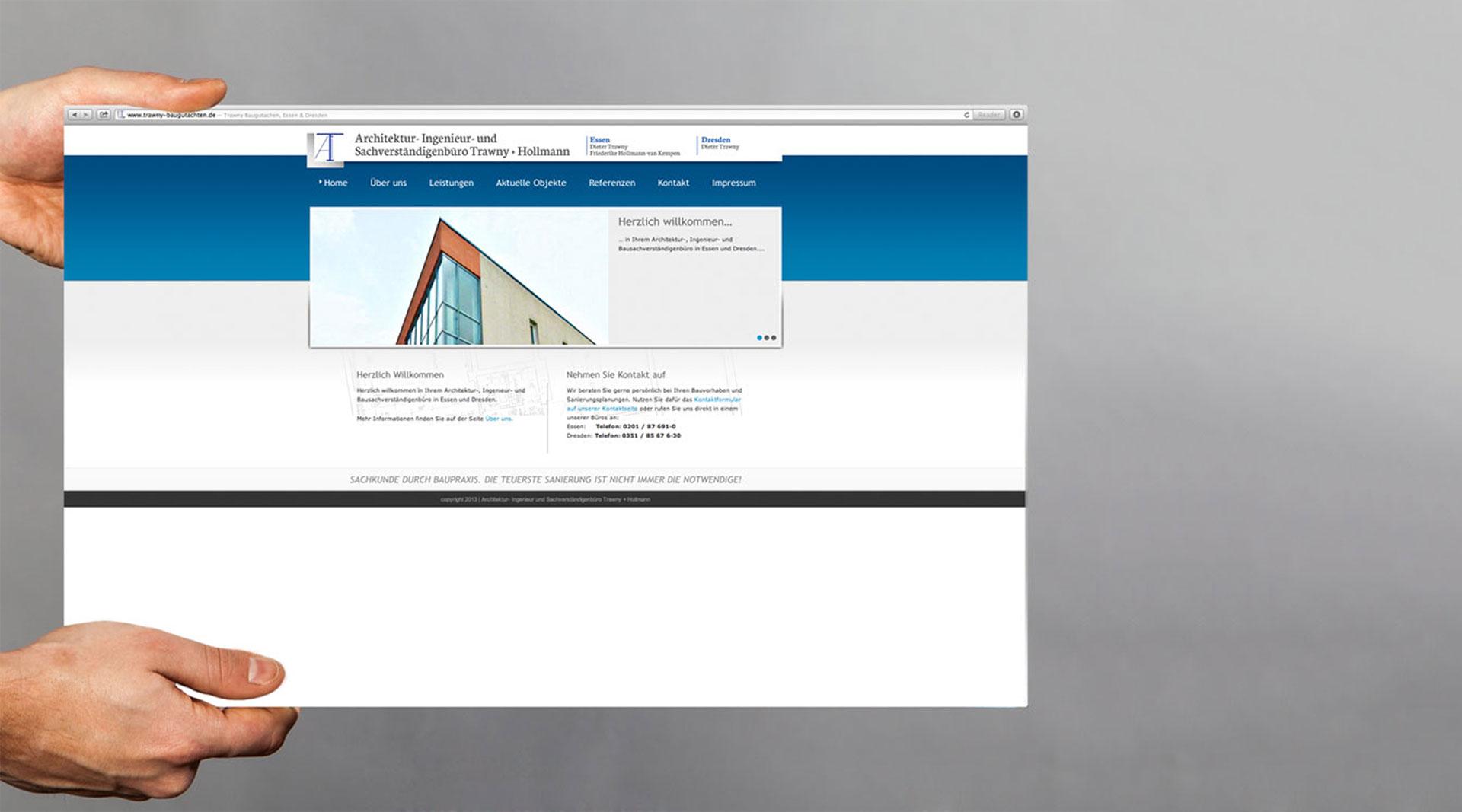 Trawny Webdesign Würzburg