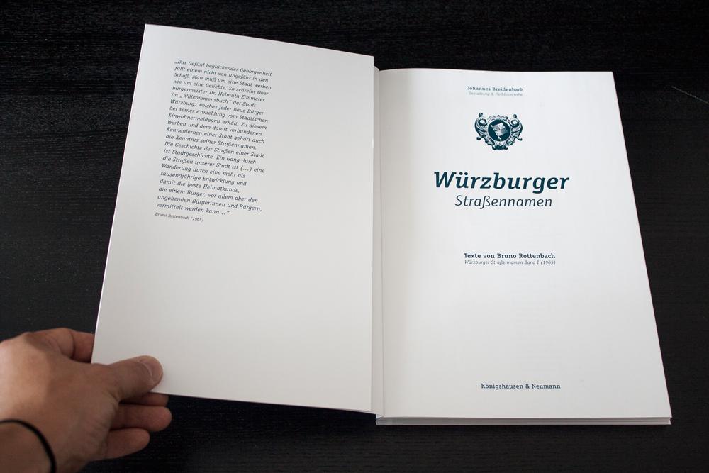 Würzburger Straßennamen Johannes Breidenbach Würzburg
