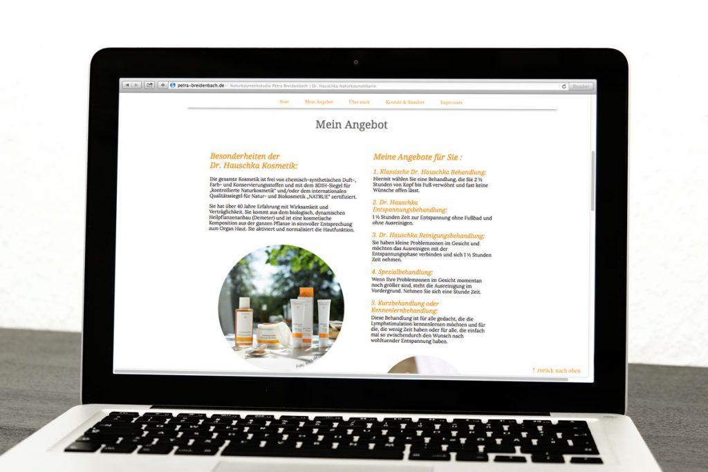 Webdesign&Print Naturkosmetik Würzburg