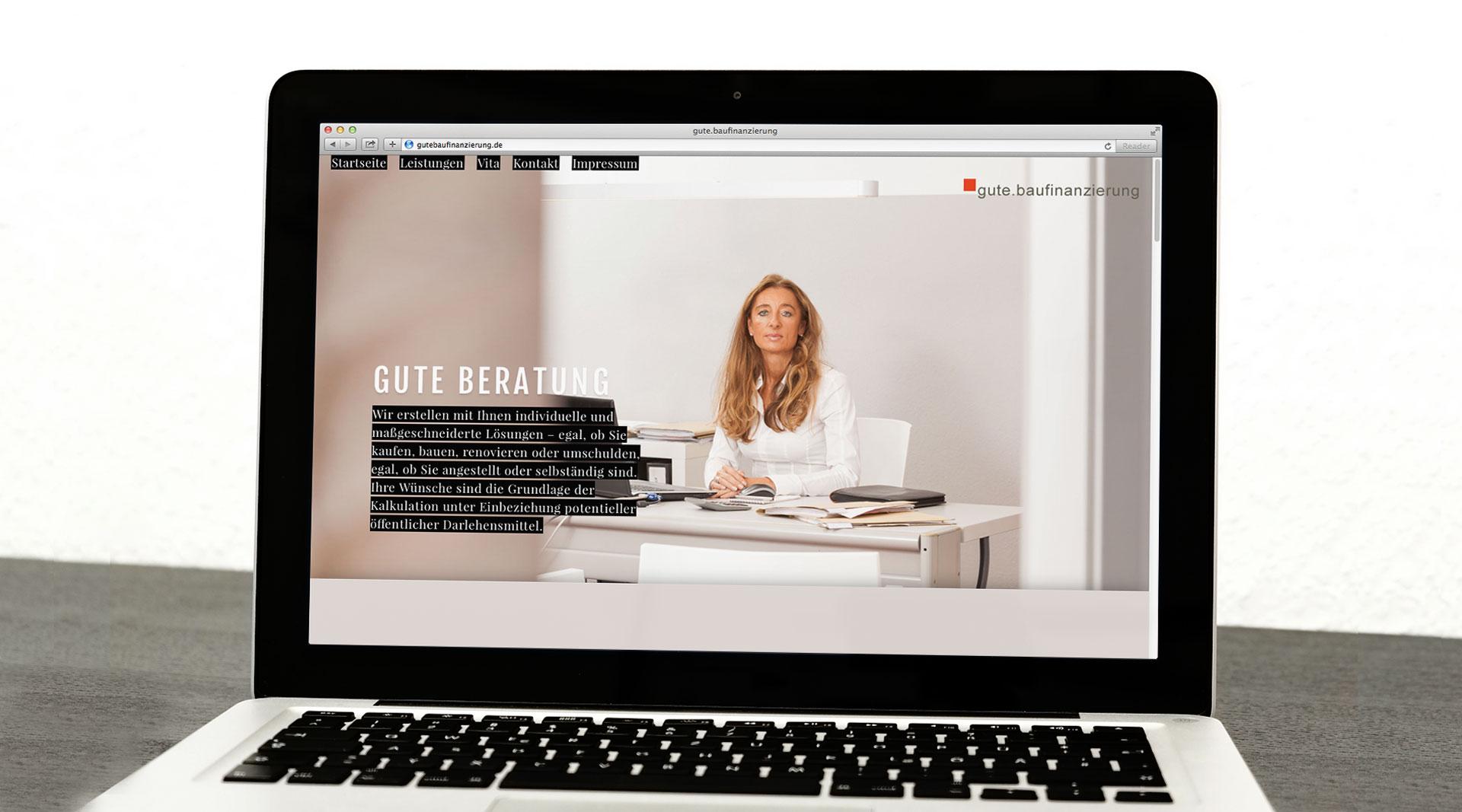 Gute Baufinanzierung Webdesign Würzburg