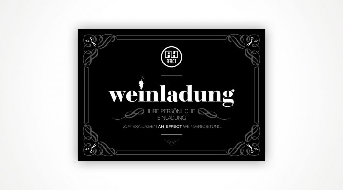 AH-Effect Jubiläum Weinladung Würzburg