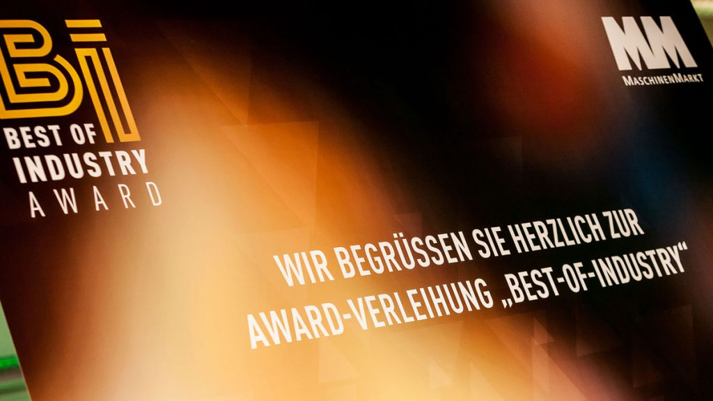 Best of Industry Award Würzburg