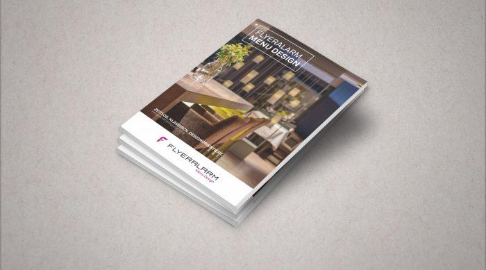 Flyeralarm Menüdesign Produktportfolio Editorial Würzburg