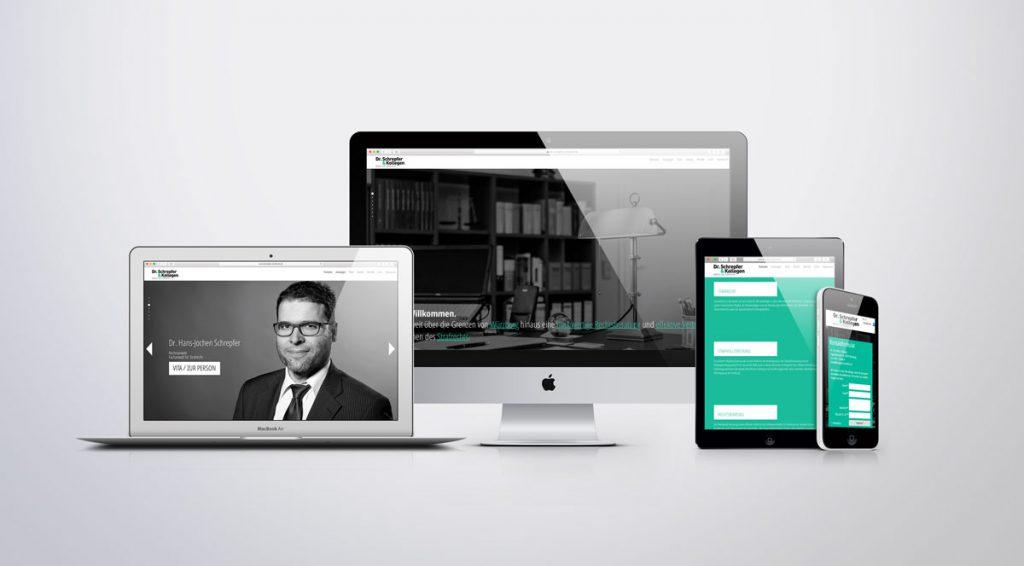 Dr. Schrepfer&Kollegen Kanzlei Logodesign Würzburg