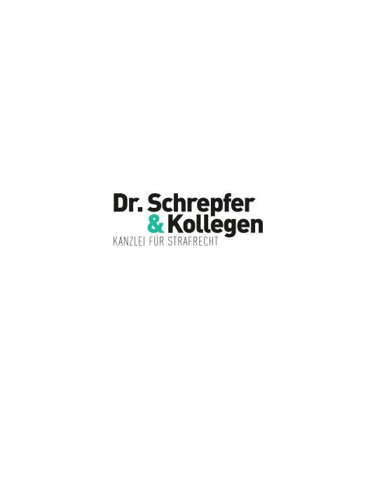 Dr. Schrepfer Kanzlei für Strafrecht Corporate Design Logo Markenkreation jos büro für Gestaltung Würzburg