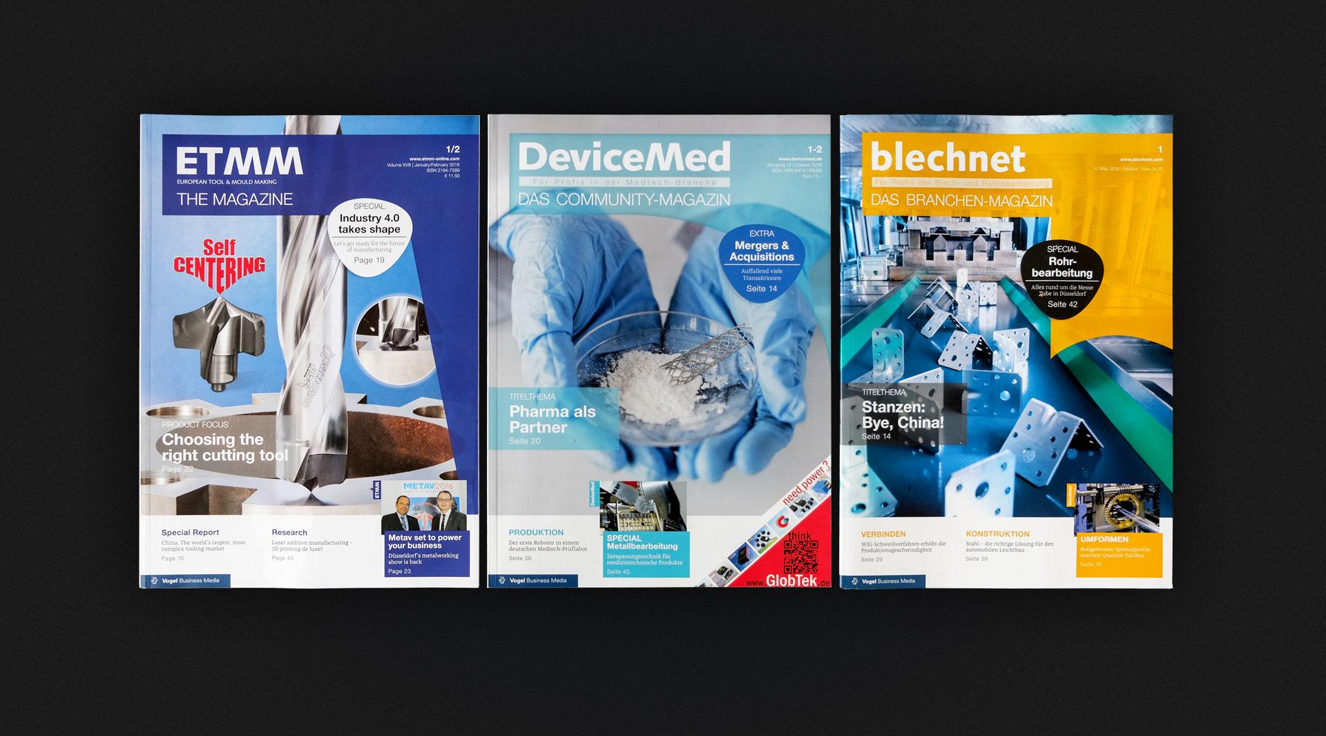 VBM Editorialdesign Würzburg
