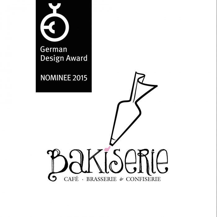 Bakiserie Logo German Design Award 2015 jos büro für Gestaltung Würzburg