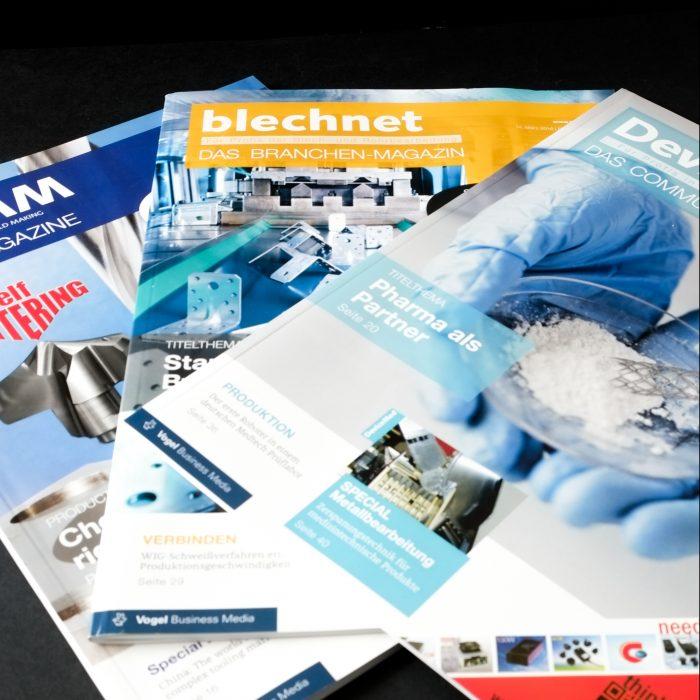 VBM Group Publishing Vogel Media Group Print Magazin jos büro für Gestaltung Würzburg