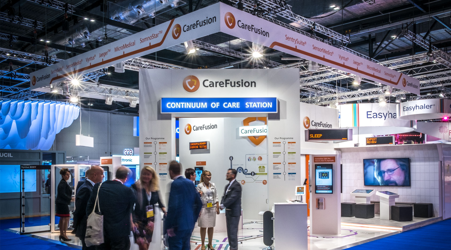 CareFusion Messestand London