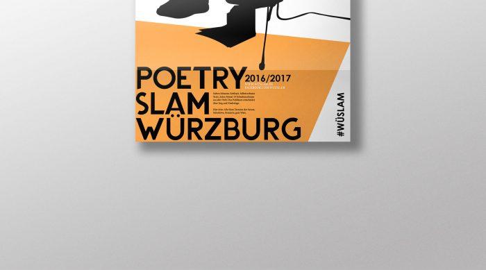 Poetry Slam Würzburg Poster