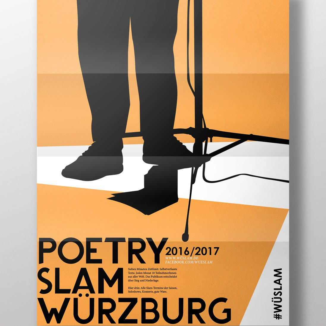 Poetry Slam Grafikdesign Würzburg