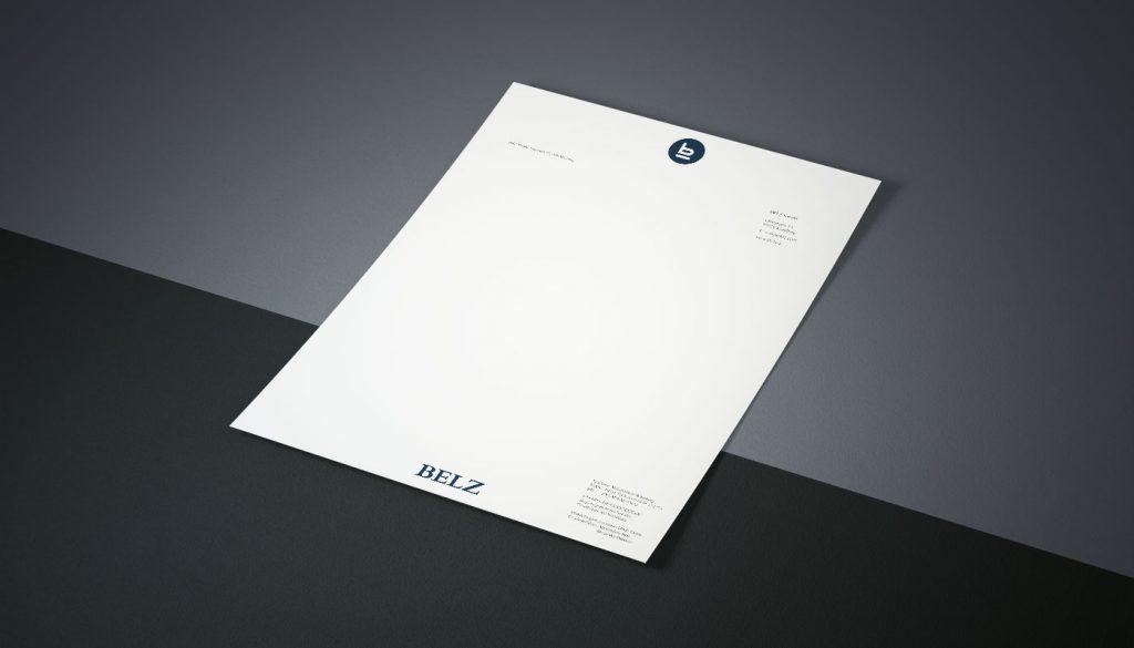 Markengestaltung belz Logodesign Würzburg