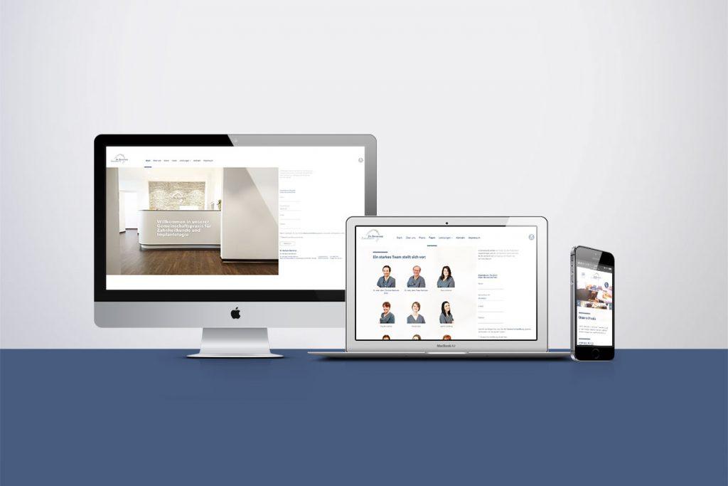 Webdesign Zahnarzt Praxis Bschorer