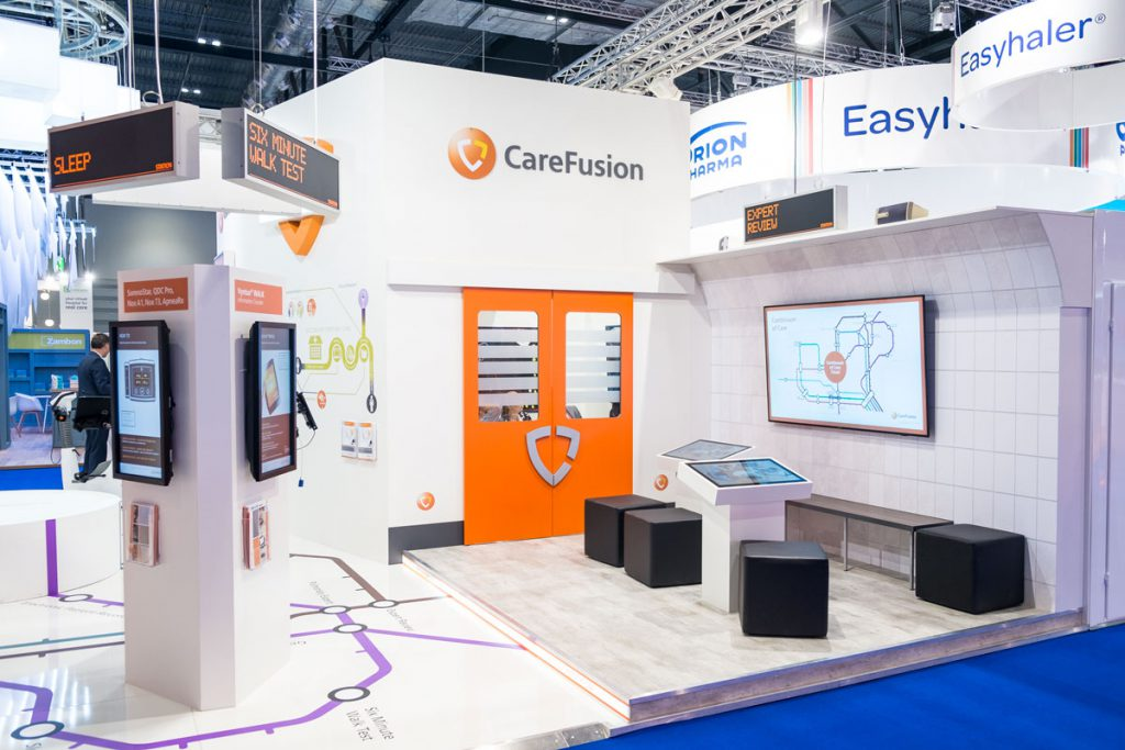 CareFusion Messestand London Würzburg