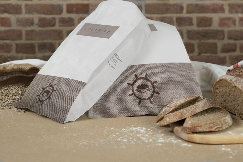 Bäckerei Schiffer Corporate Identity Bäckertüten