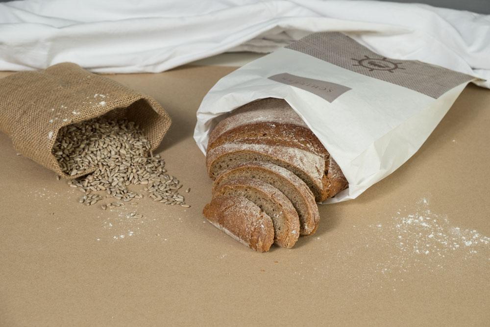 Bäckerei Schiffer Corporate Identity Bäckertüte
