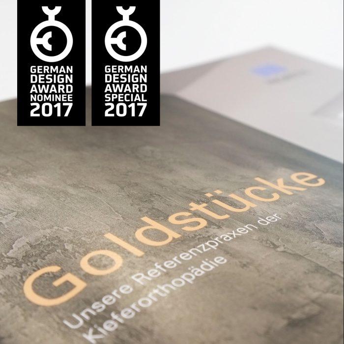 Morita Referenzbroschüre German Design Award 2017 Print Magazin jos büro für Gestaltung Würzburg