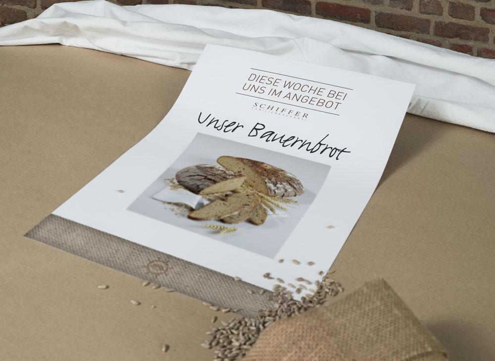 Poster Bäckerei Schiffer