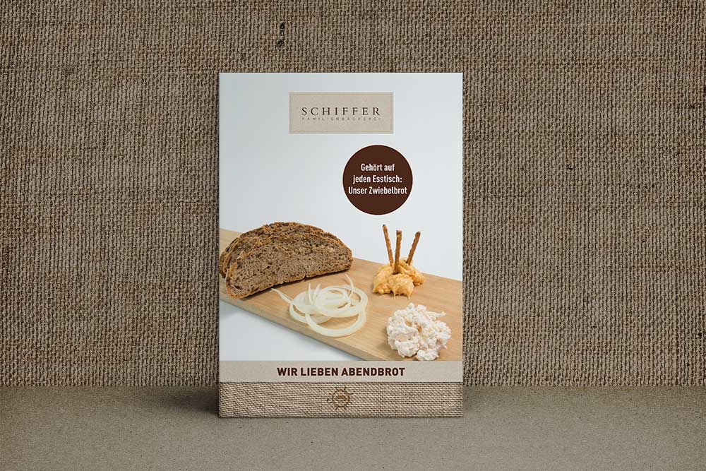 Design Plakat Bäckerei Schiffer