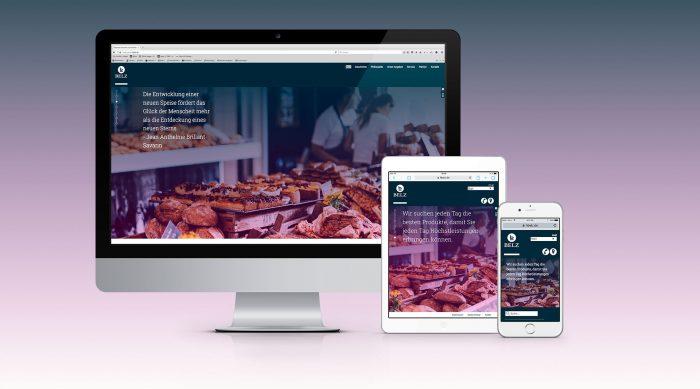 Belz GmbH Würzburg Webdesign jos büro für Gestaltung