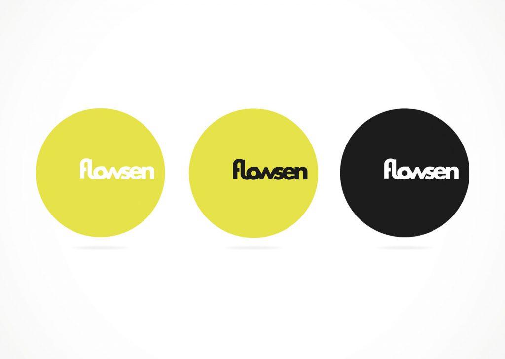 Flowsen Logodesign Markenkreation DJ Würzburg jo's büro für Gestaltung