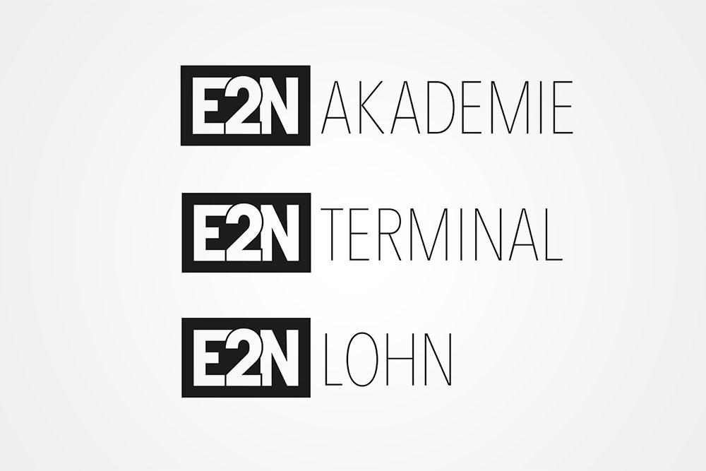 Logovarianten E2N Würzburg