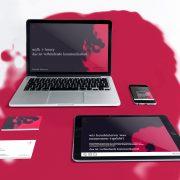 mylk+honey logogestaltung und marke branding für kommunikationsagentur