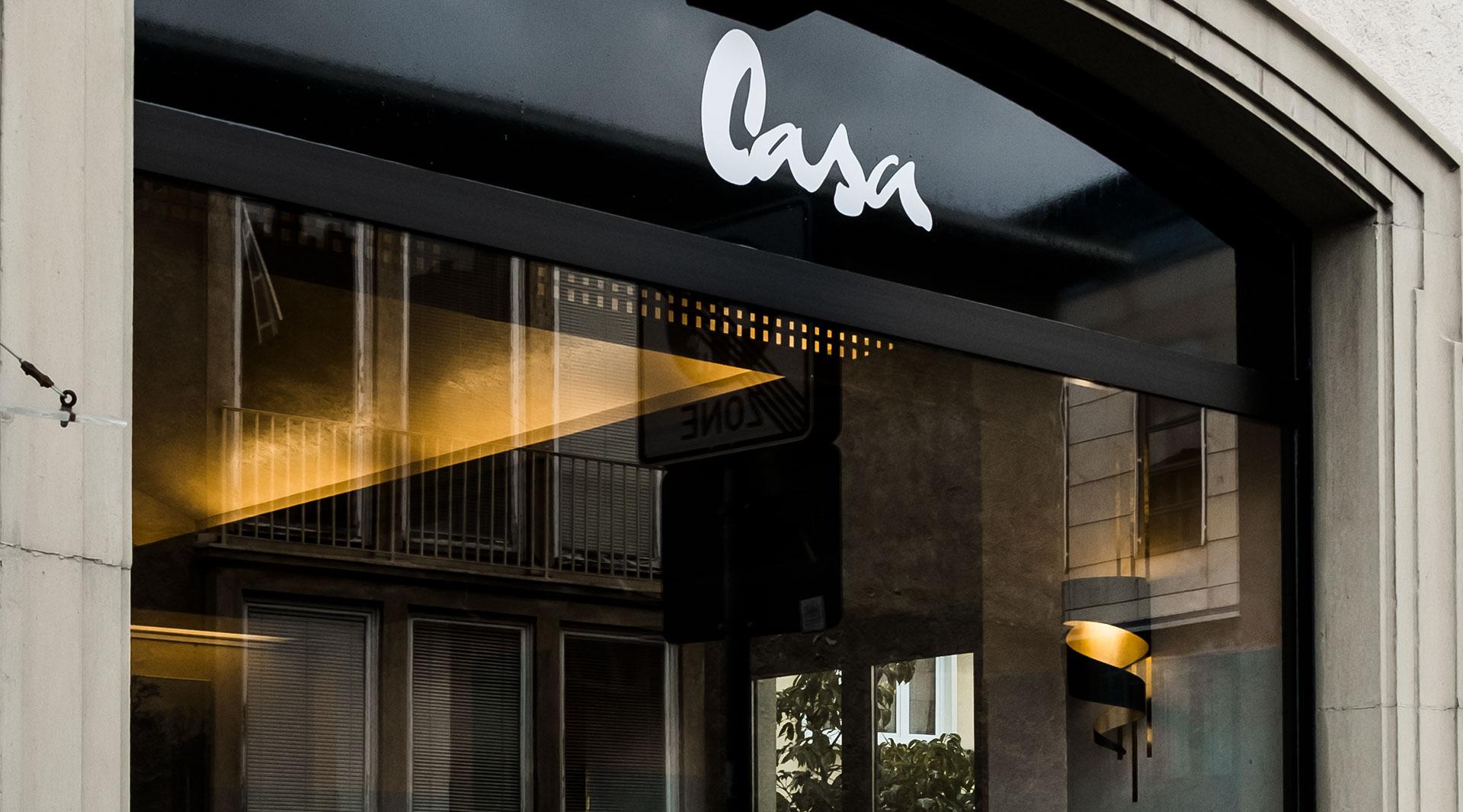 Cafe Casa Markenkreation Logo jo's Büro für Gestaltung Designbüro Würzburg