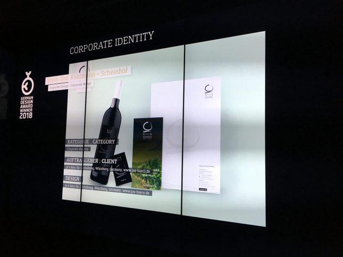 Frankfurt am Main Design Ausstellung German Design Award 2018