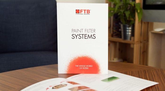 FTB Filtertechnik Brockmann Würzburg Flyer Messe Gestaltung Grafik Design jo's büro für Gestaltung