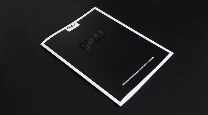 Grafik Design Broschüre Imagebroschüre Posthalle Würzburg jo's büro für Gestaltung