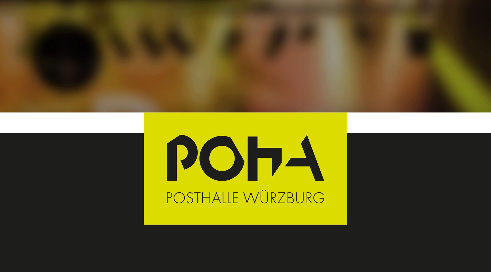 Posthalle Markenkreation Geschäftsausstattung Kommunikationsmittel Plakate Flyer Webdesign Corporate Design jo's büro für Gestaltung