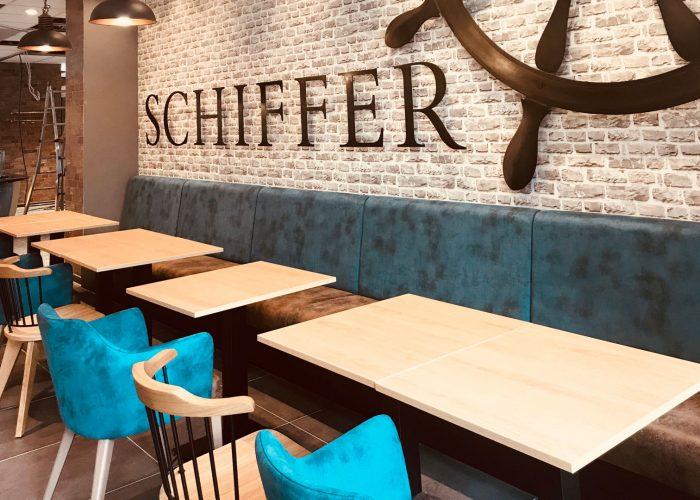 Bäckerei Schiffer Würzburg Filiale Inneneinrichtung Designbüro