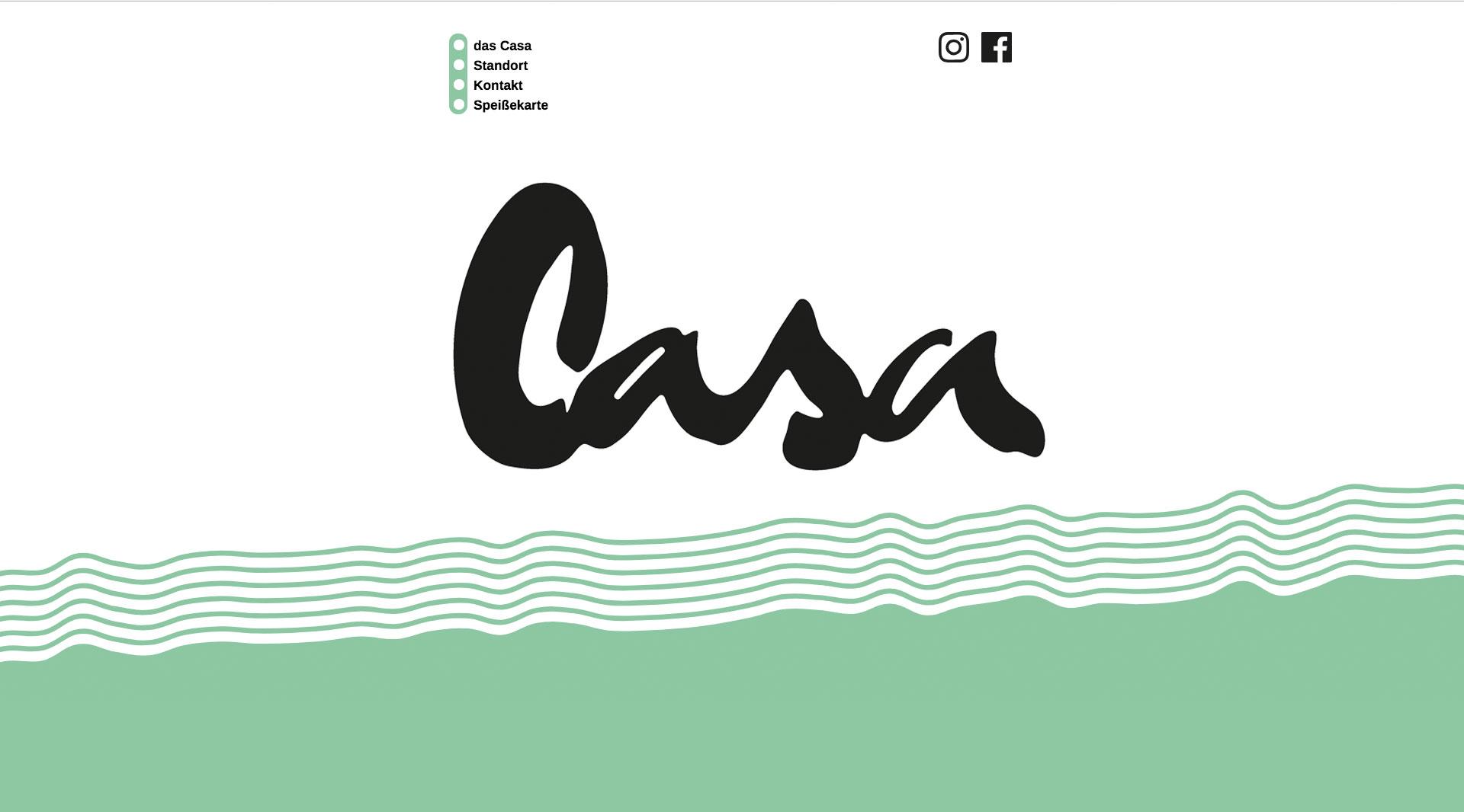 Webdesign Eiscafe Würzburg das Casa   jo's büro für Gestaltung   Designbüro Würzburg