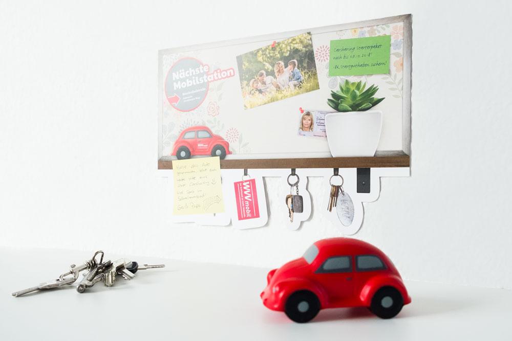 WVV Würzburg Mobilstation Mailing Grafikdesign jo's büro für Gestaltung