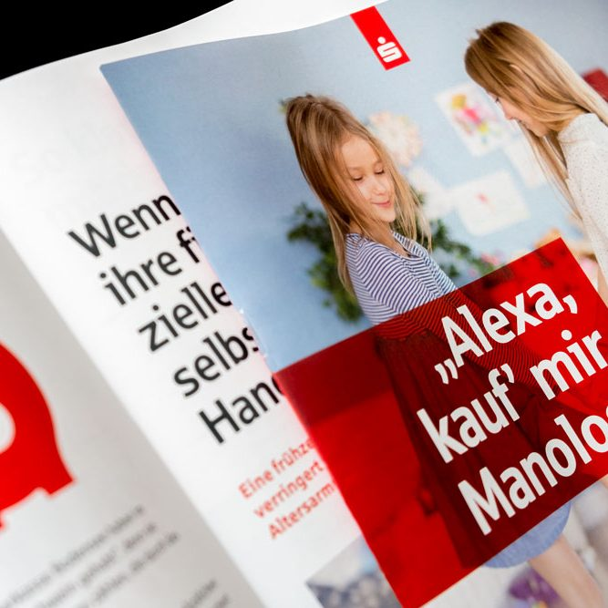 Layout Sparkasse Magazin